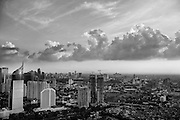 View of the Jakarta skyline from the Sky Bar, Jakarta, Indonesia, 2016 - Photograph by David Dare Parker
