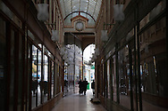 France, Paris. 2nd dsitrict.  Passage bourg l abbe Historical Covered passages of Paris.