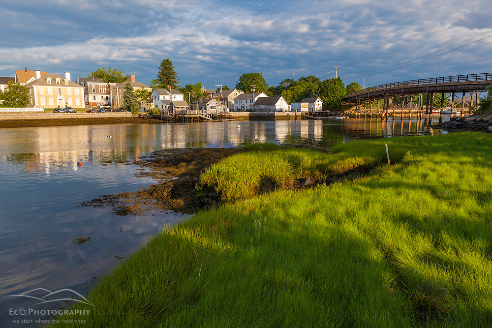 The South End as seen from Pierce Island in Portsmouth, New Hampshire.