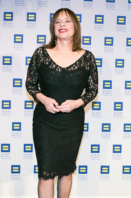 Actress and singer Patti LuPone at the HRC's Greater NY Gala 2014 held at the Waldorf=Astoria in New York City on Saturday, February 8, 2014. (Photo: JeffreyHolmes.com)