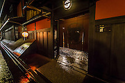 Ichi-Riki, in Gion district, is one of the oldest and most exclusive teahouses in Kyoto. It is said that the leader of the 47 ronin has visited here while planning the revenge of his master's death.