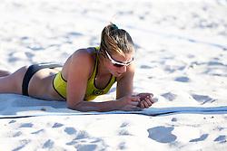 20140605 ITA: EK Beachvolleybal, Cagliari<br /> Jantine van der Vlist <br /> ©2014-FotoHoogendoorn.nl / Pim Waslander