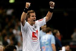 Handball: European Championship Qualification, Germany (GER) - Slovenia (SLO), Oliver Roggisch (GER), www.hoch-zwei.net, copyright: SPORTIDA / HOCH ZWEI / Philipp Szyza