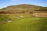 Carboniferous limestone scenery Pen Y Ghent, Yorkshire Dales national park, England, UK