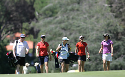 (Canberra, Australia---30 January 2011) A group of ladies walk up the fairway during the final round of the ActewAgl Royal Canberra Ladies golf tournament as part of the 2011 Australian Ladies Pro Golf Tour./ 2011 Copyright Sean Burges. For Australian editorial sales, contact seanburges@yahoo.com.