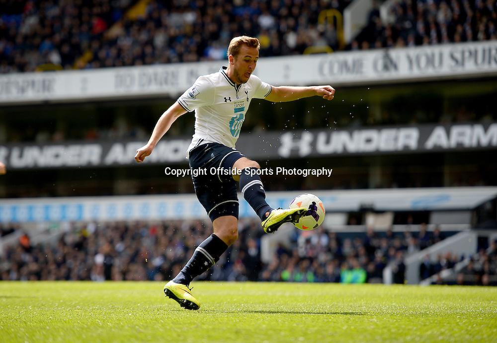 19 April 2014 - Barclays Premier League - Tottenham Hotspur v Fulham - Harry Kane of Tottenham Hotspur - Photo: Marc Atkins / Offside.