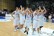 Bari, 08/08/2010<br /> Eurobasket men 2011 Qualifying Round<br /> Italia - Finalndia<br /> Nella foto: team italia<br /> Foto Ciamillo