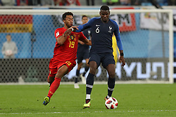 July 10, 2018 - SãO Petersburgo, Rússia - SÃO PETERSBURGO, MO - 10.07.2018: FRANÇA X BÉLGICA - Paul Pogba during the match between France and Belgium valid for the semifinal of the World Cup 2018, held at the Krestovsky Stadium (Zenit Arena) in St. Petersburg, Russia. (Credit Image: © Ricardo Moreira/Fotoarena via ZUMA Press)
