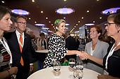 Koningin Maxima bij congres van de European Academy of Neurology
