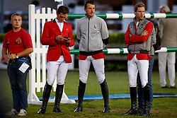 Devos, Pieter (BEL);<br /> Philippaerts, Olivier (BEL);<br /> Wathelet, Gregory (BEL) <br /> Aachen - CHIO 2017<br /> © www.sportfotos-lafrentz.de/Stefan Lafrentz