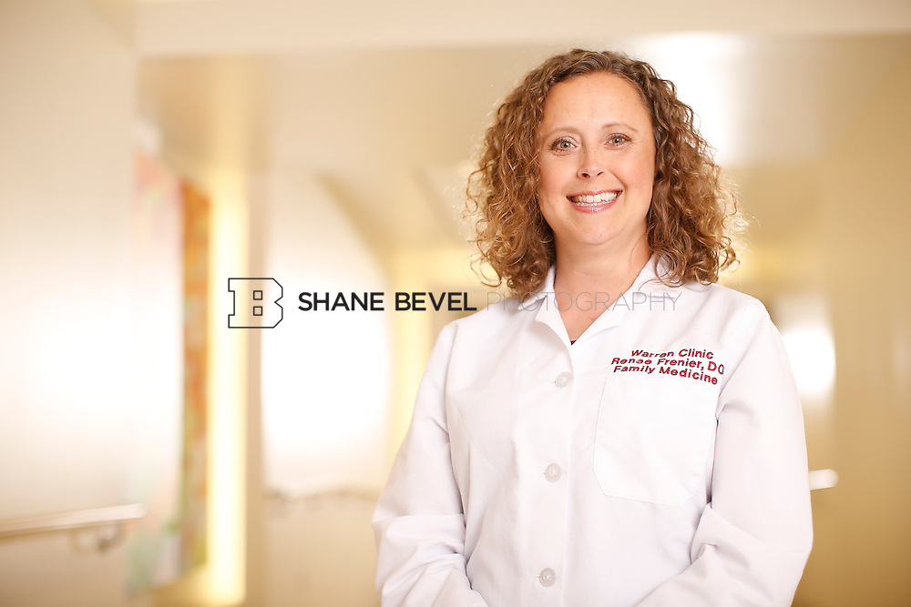 5/28/15 4:14:44 PM -- Dr. Renee Frenier of Saint Francis Health System poses for a portrait for the 2015 Advertising Campaign. <br /> <br /> Photo by Shane Bevel