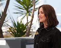 Actress Marion Cotillard at the Mal De Pierres (From the Land of the Moon) film photo call at the 69th Cannes Film Festival Sunday 15th May 2016, Cannes, France. Photography: Doreen Kennedy