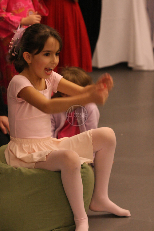 Coppelia Cake Walk at the PNBS Winter Wonderland Ball 2010.