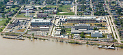 aerial view of Federal City, a 155-acre redevelopment of the former Naval Support Facility New Orleans
