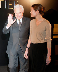 HRH. Carlota Casiraghi and Bernard Fornas opens Cartier exhibition at Thyssen Museum, Madrid, Spain, October 22, 2012. Photo by Belen D. Alonso / DyD Fotografos / i-Images...SPAIN OUT