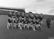 Neg No: A484/03-07...1957AIJHCF2.08.09.1957, 09.08.1957, 8th September 1957...All Ireland Junior Hurling Championship - Home Final...Limerick.07-15.Galway.05-08...Galway Team