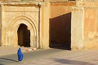 Maroc, Anti Atlas, région Sous-Massa-Draa, Taroudant, les remparts // Morocco, Sous valley, Taroudant, city wall