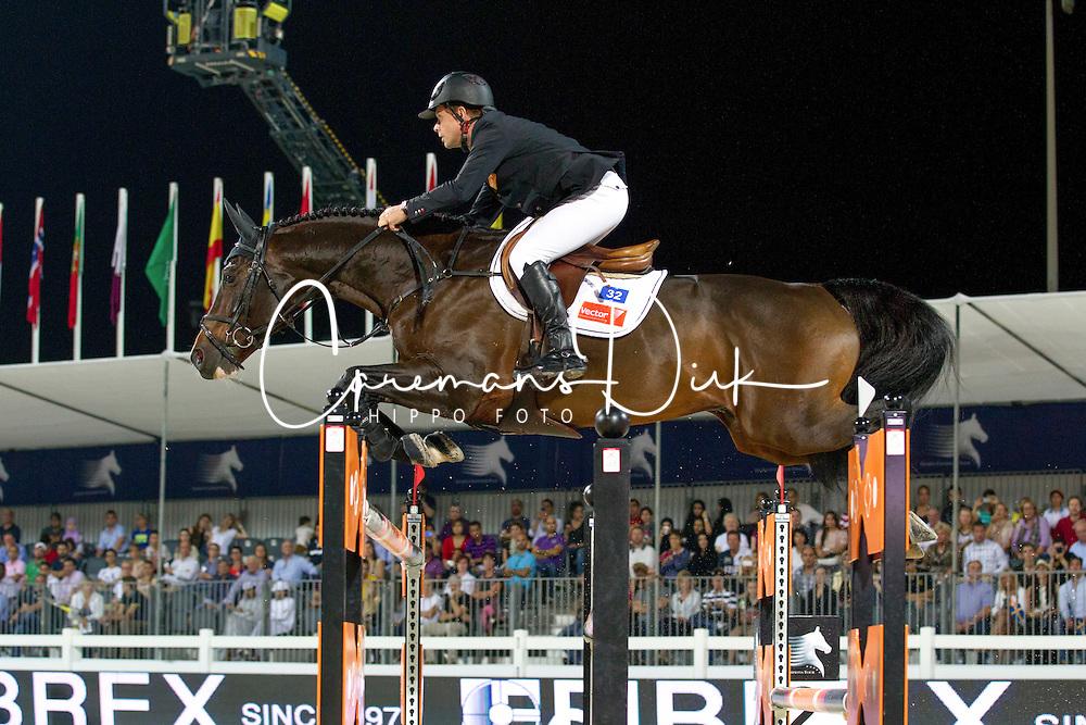 Bengtsson Rolf Goran (SWE) - Casall La Sillaze<br /> Final Global Champions Tour - Abu Dhabi 2012<br /> &copy; Hippo Foto - Cindy Voss