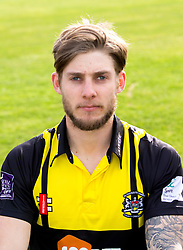 Chris Dent of Gloucestershire Cricket poses for a headshot in the Royal London One Day Cup kit - Mandatory by-line: Robbie Stephenson/JMP - 04/04/2016 - CRICKET - Bristol County Ground - Bristol, United Kingdom - Gloucestershire  - Gloucestershire Media Day