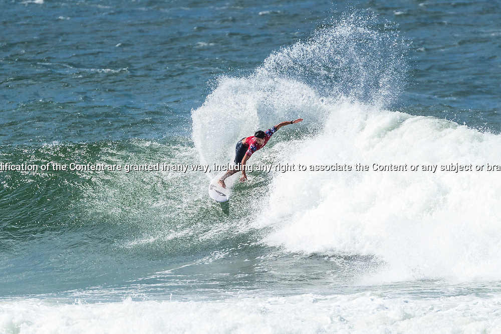 Connor O'Leary (AUS) is eliminated from the Quiksilver Pro Gold Coast after placing second in Heat 11 of Round 3 at Snapper Rocks, Gold Coast, QLD, Australia. . FOR EDITORIAL NEWS USE ONLY