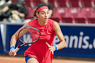 Caroline Garcia (France) at the 2017 WTA Ericsson Open in Båstad, Sweden, July 28, 2017. Photo Credit: Katja Boll/EVENTMEDIA.