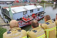 Letzte Fahrt des Feuerwehrbootes