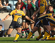 Twickenham, GREAT BRITAIN, Leeds Joe BEDFORD, during the Guinness Premiership match Harlequins vs Leeds Carnegie, at Twickenham Stoop. England, Sat 22.09.2007  [Mandatory Credit, Peter Spurrier/Intersport-images].....