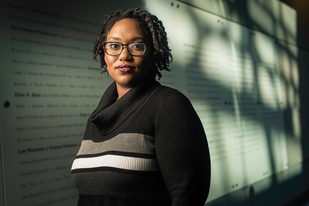 WASHINGTON, DC -- 12/5/16 -- Marcia Chatelain is an Associate Professor of History at Georgetown. She has spurred the development of the syllabus as a tool for social justice.…by André Chung #_AC25097