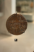 Medal/coin of the Pazzi Conspiracy, with Lorenzo and Giuliano de' Medici. Circa 1478. Florence, Italy. With Latin inscription.
