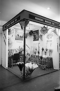 24/04/1964<br /> 04/24/1964<br /> 24 April 1964 <br /> Stands at the Irish Export Fashion Fair at the Intercontinental Hotel, Dublin. Sauvagnat Aurillac Ltd. (Bolton Street, Dublin) stand with display of umbrellas.