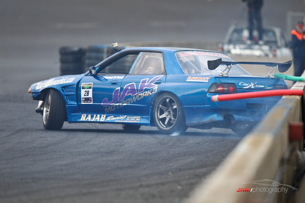 Round 2 of the Australian Drift Grand Prix, held at Melbourne's Calder Park Thunderdome.