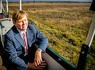 27-9-2018 - BAGGERVEEN - King Willem Alexander opens the new sheepfold in Bargerveen nature reserve on Thursday morning 27 September 2018. With the commissioning of the sheepfold the final phase of the many years of protection and restoration work for the recreational nature area will be completed.