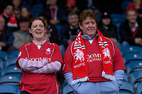 Photo: Glyn Thomas.<br />Huddersfield Town v Welling United. The FA Cup. 06/11/2005.<br />Welling fans cheer on their team.