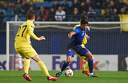 December 7, 2017 - Vila-Real, Castellon, Spain - Dor Peretz of Maccabi Tel Aviv during the Europa League match between Villarreal CF and Maccabi Tel Aviv at Estadio de la Ceramica on december 7, 2017 in Vila-real, Spain. (Credit Image: © Maria Jose Segovia/NurPhoto via ZUMA Press)