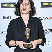 Breakthrough produceer of the year Winner Marta Salogni of The Music Producers Guild Awards at Grosvenor House, Park Lane, on 27th February 2020, London, UK.