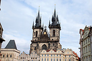 Church of Our Lady before Tyn Prague, Czech Republic