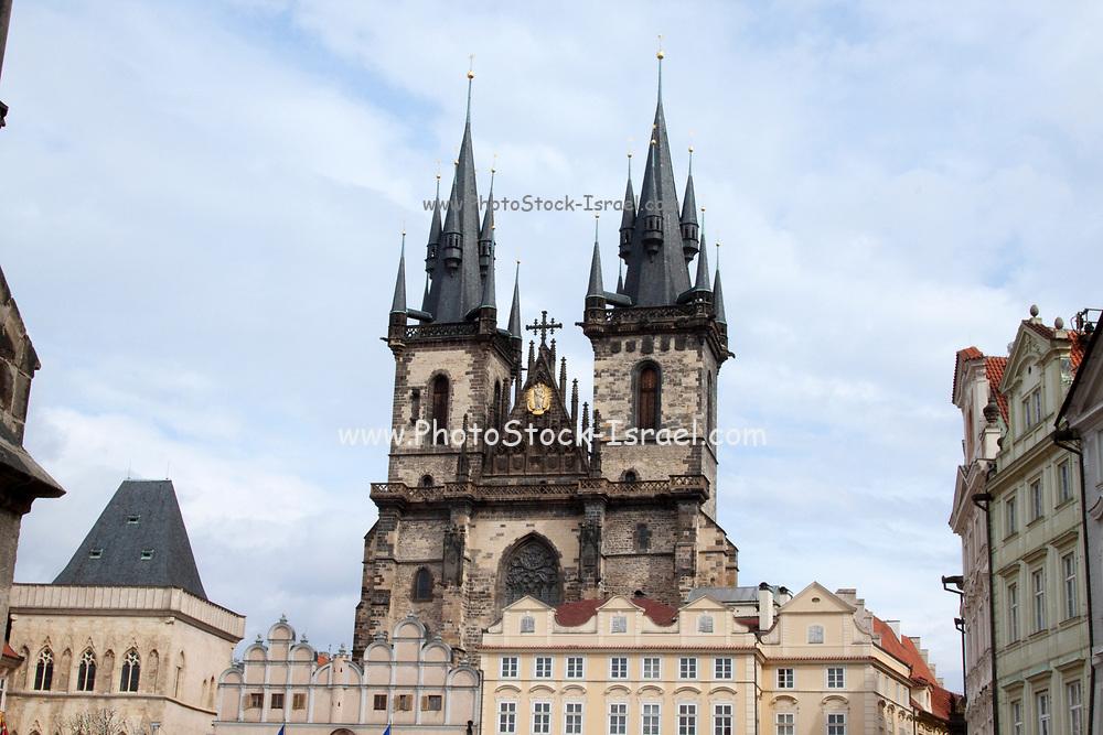Church of Our Lady before Tyn Prague, Czech Republic