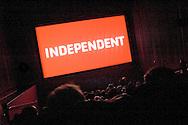 Sundance Film festival screening theater interior