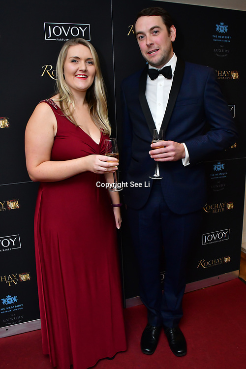 Ellora Harper attend Rochay High Society Soiree with Jovoy at Westbury Mayfair grafton suite on 21 November 2019, London, UK.