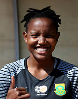 International Women's Friendly Matchs 2019 / <br /> Womens's Cyprus Cup Tournament 2019 - <br /> Finland v South Africa 3-0 ( Tasos Marko Stadium - Paralimni,Cyprus ) - <br /> Andile Dlamini of South Africa