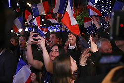 May 26, 2019 - Paris, France - Joie partisans Rassemblement National (Credit Image: © Panoramic via ZUMA Press)