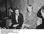 Martin Amis & Tina Brown. New York. 1995<br /><br />Photograph by Dafydd Jones<br />66 Stockwell Park Rd. London SW9 0DA<br />Tel 0171 733 0108