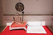 India, Rajasthan, Jodhpur, Mehrangarh fort Museum display,