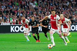13-08-2019 NED: UEFA Champions League AFC Ajax - Paok Saloniki, Amsterdam<br />  Ajax won 3-2 and they will meet APOEL in the battle for a group stage spot / Dusan Tadic #10 of Ajax