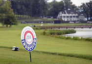 "COOPERSTOWN, NY - JULY 26: A general view of the course during the annual ""Hall of Fame Golf Classic"" at the Leatherstocking Golf Club in Cooperstown, New York on July 26, 2014."