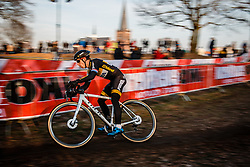 VAN DER HAAR Lars (NED) during the Men Elite race, UCI Cyclo-cross World Cup #8 at Hoogerheide, Noord-Brabant, The Netherlands, 22 January 2017. Photo by Pim Nijland / PelotonPhotos.com   All photos usage must carry mandatory copyright credit (Peloton Photos   Pim Nijland)