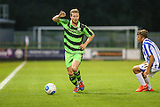 Forest Green Rover's Wade Elliott during the Gloucestershire Senior Cup match between Forest Green Rovers and Cheltenham Town at the New Lawn, Forest Green, United Kingdom on 20 September 2016. Photo by Shane Healey.
