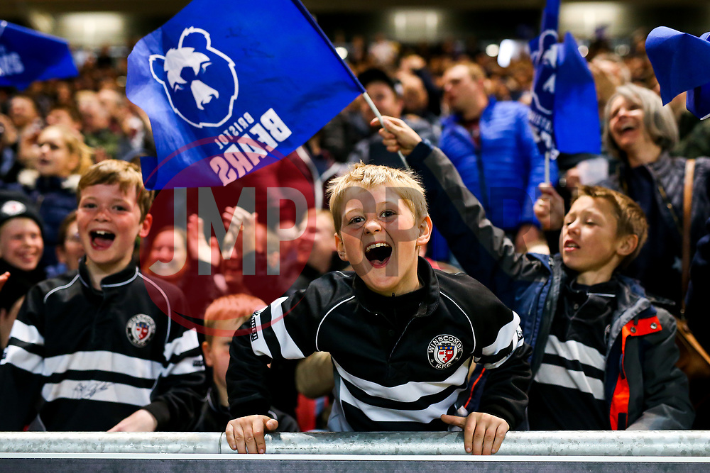 Bristol Bears fans - Rogan/JMP - 03/05/2019 - RUGBY UNION - Ashton Gate Stadium - Bristol, England - Bristol Bears v Sale Sharks - Gallagher Premiership Rugby.