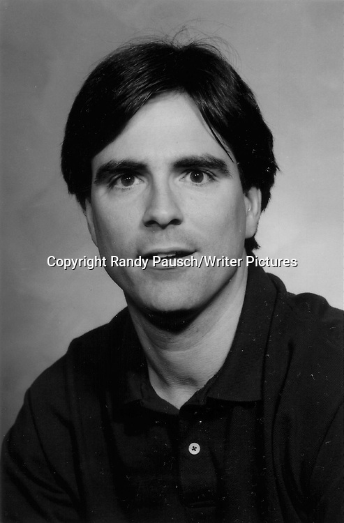 Randy Pausch, author and  Professor of Computer Science, Human-Computer Interaction, and Design at Carnegie Mellon University, Pittsburgh.<br /> <br /> copyright Writer Pictures<br /> contact +44 (0)20 822 41564<br /> info@writerpictures.com<br /> www.writerpictures.com