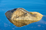 Rock reflection, Peggy's Cove, Nova Scotia, Canada